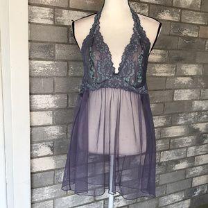 Victorias Secret halter nightie size XL